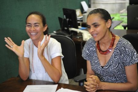 Marina Silva e Heloísa Helena abrem igreja