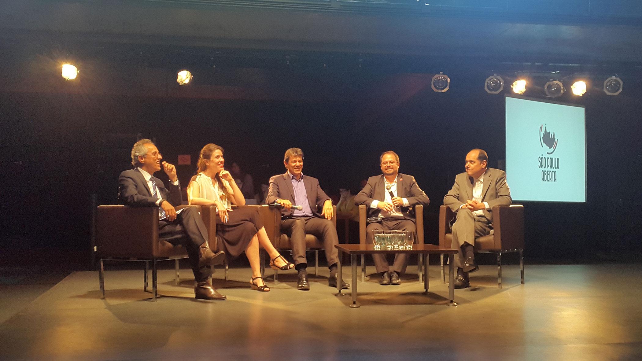 SP: Haddad abre o gabinete para conversas