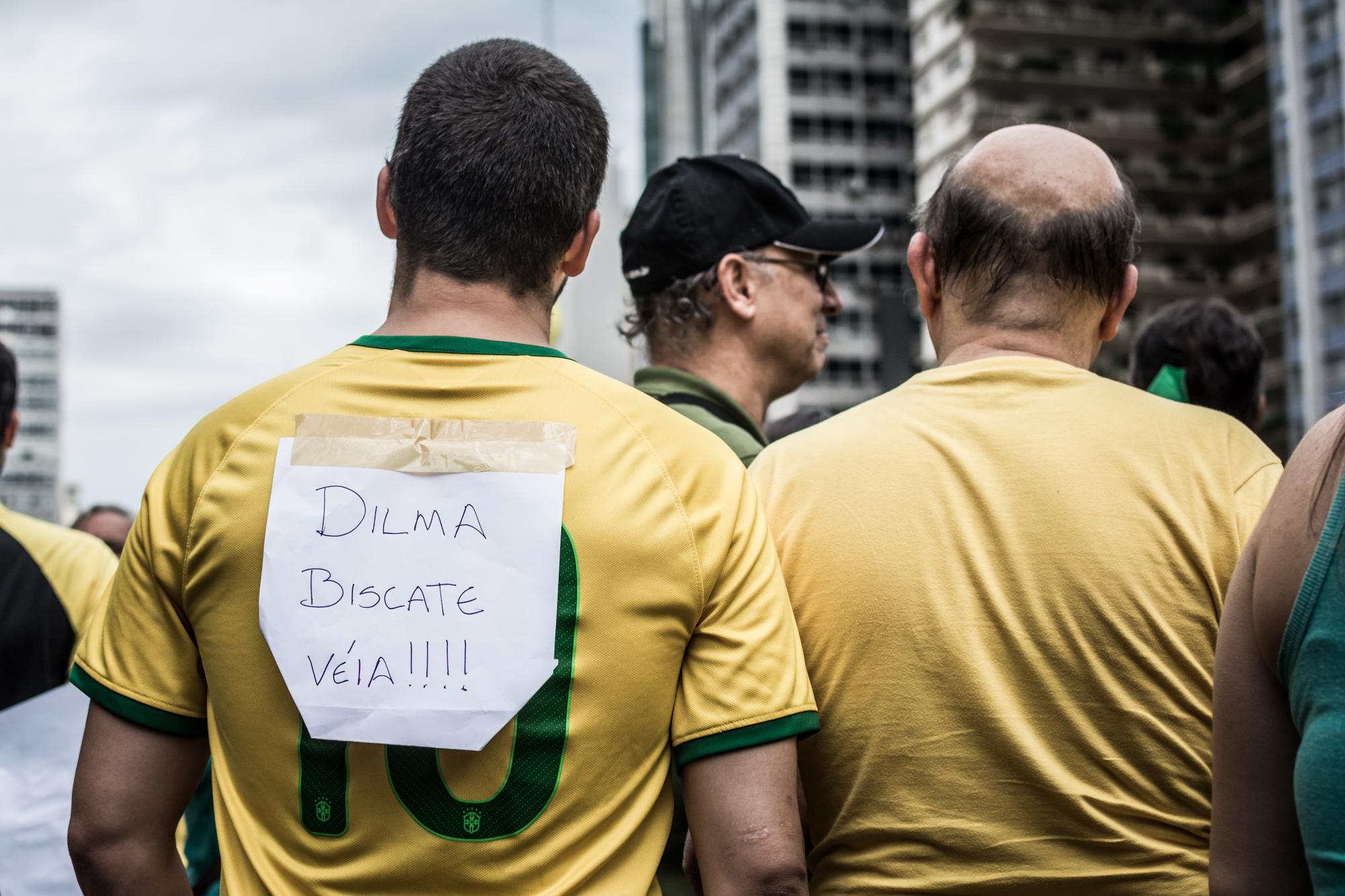 Impeachment da Dilma e a véia