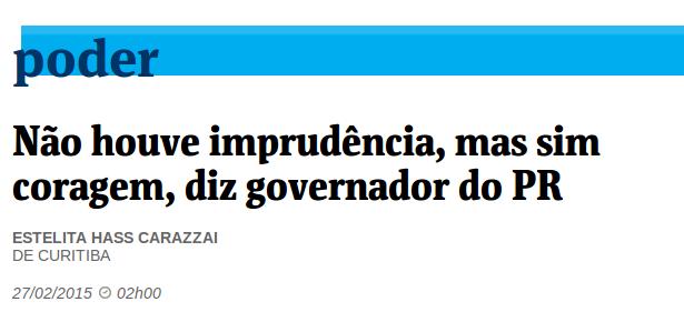O INACREDITÁVEL Beto Richa
