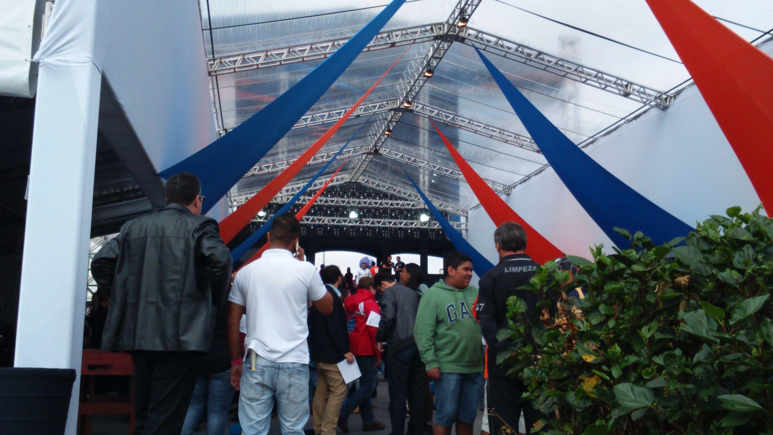 Área VIP, Força Sindical no 1º de maio