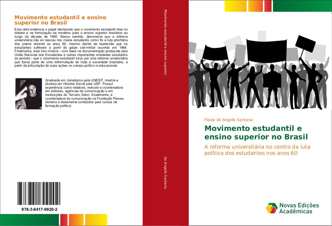 """Lançamento do livro """"Movimento Estudantil e Ensino Superior no Brasil"""""""