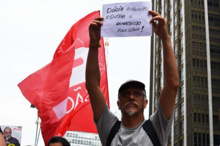 Greve geral e 1º de Maio mostram por que Doria Junior não é um trabalhador exigente, mas só um menino mimado