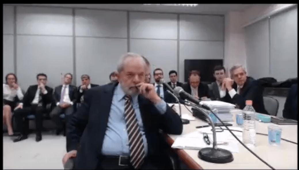 Confira a íntegra do depoimento de Lula em Curitiba (13/09/2017)
