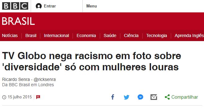 Rede Globo e o racismo de Willian Waack
