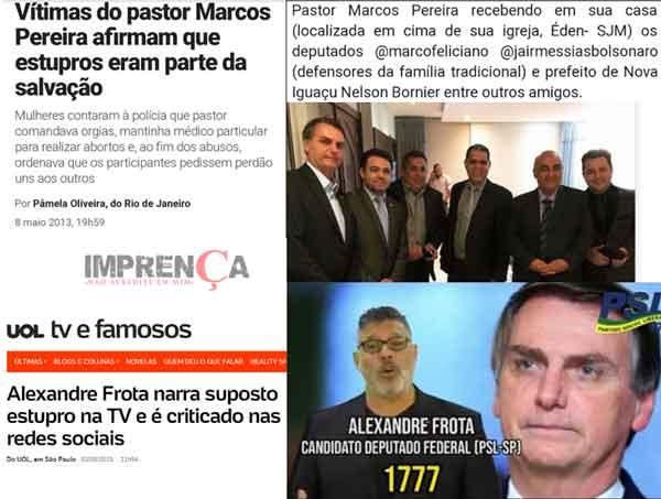 Bolsonaro e a falsa repulsa ao estupro