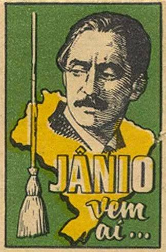 Cartaz da campanha de Jânio Quadros