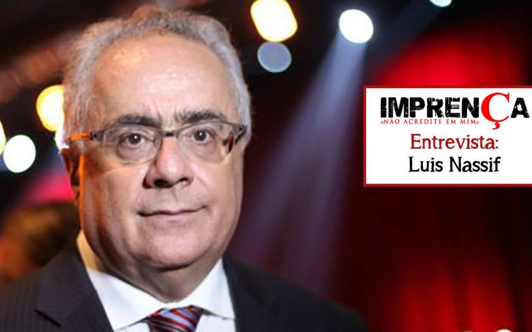Entrevistamos Luis Nassif, editor chefe do GGN